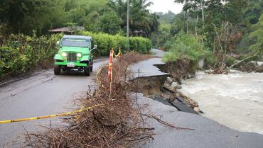 Ola invernal  dejó en el Quindío 226 emergencias