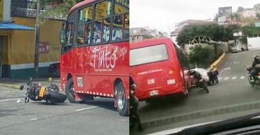 En hechos aislados, 2 buses involucrados en accidentes de tránsito en Armenia