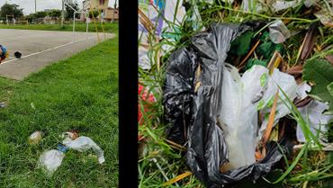 En parques y cañadas de La Patria son arrojados desechos hospitalarios