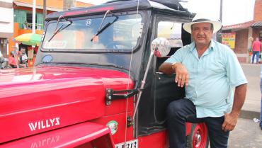 A lomo de la mula mecánica con Gustavo Barahona Ramírez