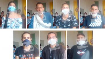 En libertad, los 7 ciudadanos señalados como vándalos