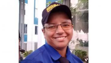 Supervisora de vigilancia murió en un accidente de tránsito, sus compañeros lamentan su partida