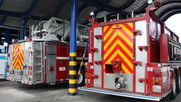 5 carros de bomberos llevan más de 20 años operando sin matrícula