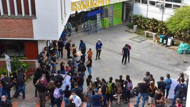 Manifestantes tienen hasta las 11:59 p. m. para salir de la Universidad del Quindío