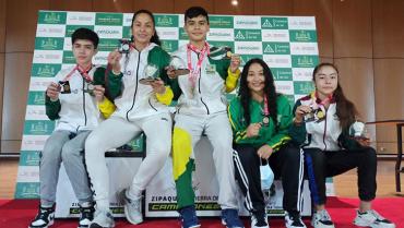 En la I Válida Nacional de Bádminton, Quindío cosechó 2 oros, 2 platas y 1 bronce