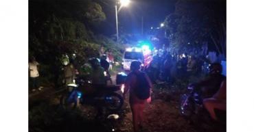 Menor de edad murió tras accidente de tránsito