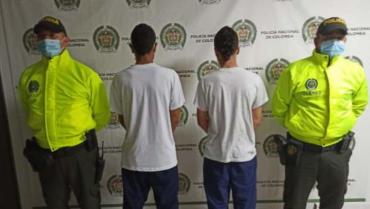Detenidos 2 menores de edad señalados de vender drogas