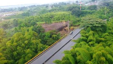 Polémica por construcción en zona verde entre La Patria y Cibeles