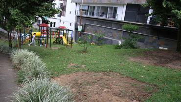 Querían convertir un parque público en restaurante