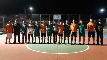 Un torneo de microfútbol 'sin tiros ni disparos'