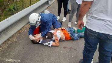 Menor de edad murió en la vía Armenia-Pereira