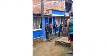Enfrentamiento armado entre Policía y un hombre en La Nueva Tebaida
