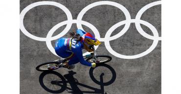 Nadie inquieta a Mariana Pajón en su camino hacia su tercer oro en BMX