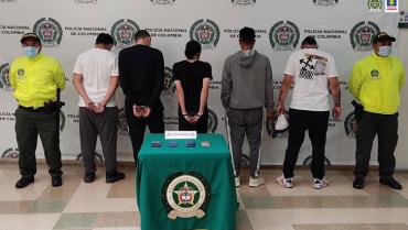 Cárcel para señalados integrantes de la banda 'La Escalera'