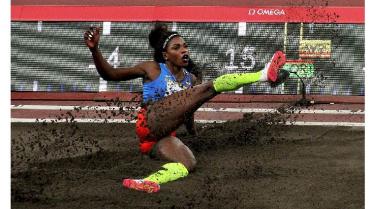 Caterine Ibargüen ocupó el décimo lugar y dice adiós a los Olímpicos Tokio 2020