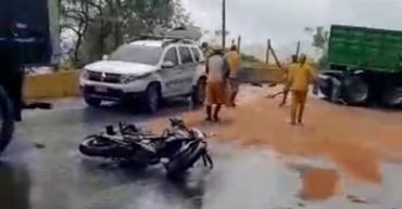 3 Vehículos involucrados en accidente de tránsito en La Línea