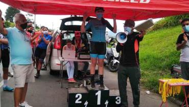 Quindío obtuvo un título en el Mini Giro Ciclístico a Buga