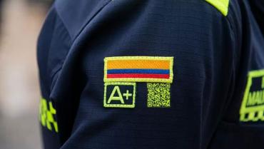 Dudas en el Quindío sobre el código QR de los uniformes de la Policía