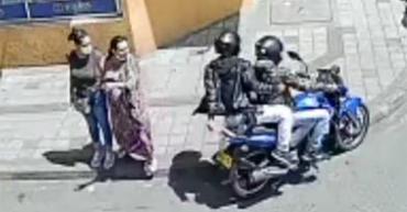 Ladrones en moto acechan el centro de la ciudad