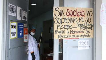 Crisis en urgencias del hospital La Misericordia
