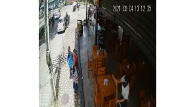 Atracadores en vehículo en el norte de Armenia