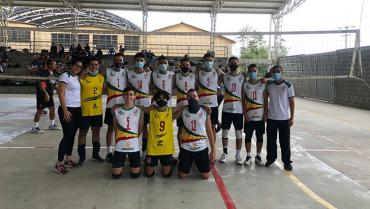 Sub-21 de voleibol compitió en Ibagué