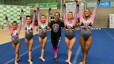 Gymnastics Stars estuvo imparable en el  International Gymnastics Cup de Medellín