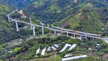 Obras anexas al Túnel de La Línea estarían listas en septiembre