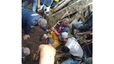 1 menor muerto y 2 más lesionados deja deslizamiento en Montenegro