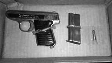 En el Granada sorprenden a menor con arma de fuego