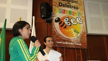Concurso regional de deletreo en inglés