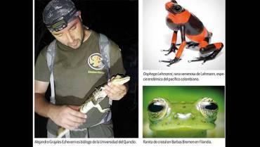 Un explorador que enseña sobre la maravillosa biodiversidad colombiana