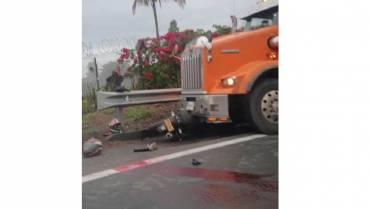 Grave accidente de tránsito en la vía la Ye - Balboa