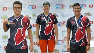 Triunfos quindianos en natación:  2 medallas de oro