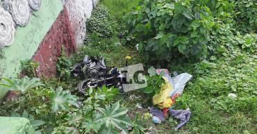 Un infarto pudo provocar accidente de motociclista