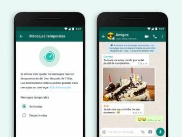 Ahora las fotos de WhatsApp se podrán ver una sola vez