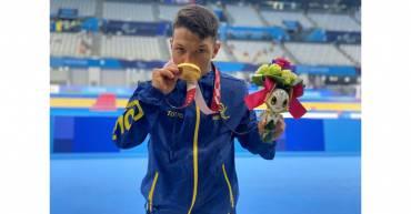 ¡Oro para Colombia! Nelson Crispín estrena el medallero del país  y logra  récord mundial