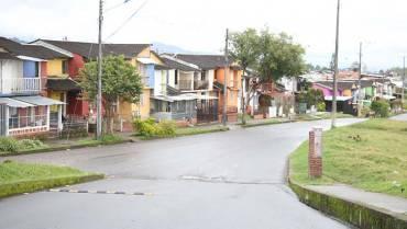 El barrio más grande de Calarcá
