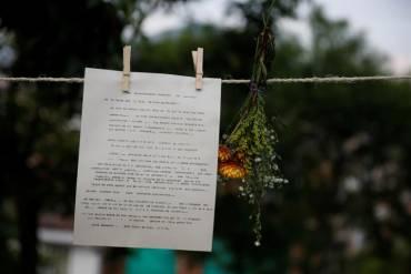 Cartas ambulantes relatan horrores de estudiantes en el conflicto colombiano