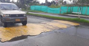 Reductores de velocidad en San Juan se volvieron un peligro