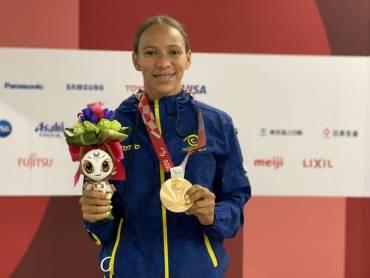 Colombia cerró con broche de bronce en los paralímpicos de Tokio