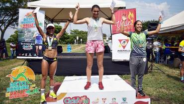 Quindiana ganó el Reto Running Valle Invencible 5K