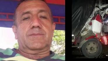 Camionero de Calarcá murió en Antioquia