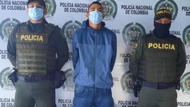 Un hombre fue capturado en Quimbaya por lesiones ocasionadas a una mujer