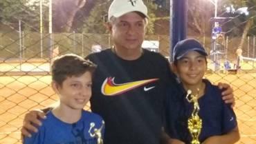 Quindío consiguió título en dobles en el Torneo Nacional de Tenis