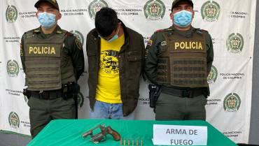 Capturado en La Tebaida por porte ilegal de armas