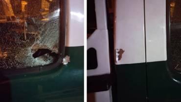 Atentaron con explosivo a caravana de la Policía en La Tebaida