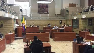 Concejo aprobó adición al presupuesto de Armenia