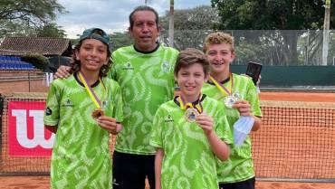 Histórico. Quindío, campeón 12 años del Nacional Interligas de Tenis
