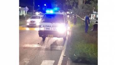 En el norte de Armenia, motociclista murió tras perder el control de su vehículo